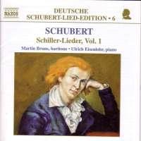 SCHUBERT: Schiller-Lieder vol. 1