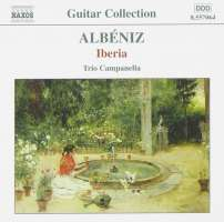 ALBENIZ: Iberia (arr. for 3 guitars)