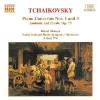 TCHAIKOVSKY: Piano Concertos nos. 1 - 3