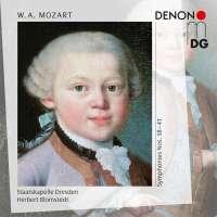 Mozart: Symphonies Nos. 38, 39, 40 & 41