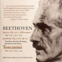 Beethoven: Symphony No. 9; Quartet Op. 135