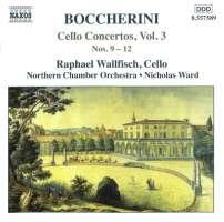 BOCCHERINI: Cello Concertos, Vol. 3