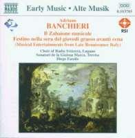 BANCHIERI: Il Zabaione Musicale