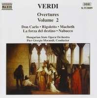 VERDI: Overtures vol. 2