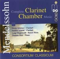 Menndelssohn: Clarinet chamber music