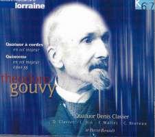Gouvy: Quatuor & quintette a cordes