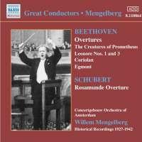 Beethoven / Schubert: Overtures