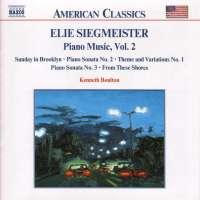 SIEGMEISTER: Piano Music vol. 2