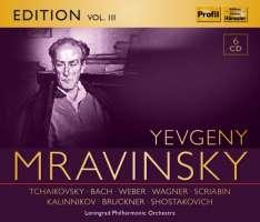 Yevgeny Mravinsky Edition Vol. 3 - Tchaikovsky; Bach; Weber; Wagner; Scriabin; Bruckner; ...