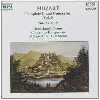 Mozart: Piano Concertos 17 & 18