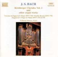 BACH: Kirnberger Chorales vol. 2