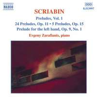 SCRIABIN: Preludes Vol. 1