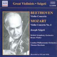 Beethoven: Violin Concerto / Mozart: Violin Concerto No 4