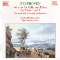 Beethoven: Cello Sonatas Nos. 1-2
