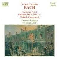 BACH J. C.: Sinfonias vol. 3