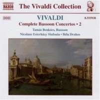 VIVALDI: Bassoon Concertos (Complete), Vol. 2
