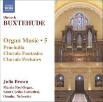 BUXTEHUDE: Organ Music, Vol. 5