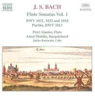 BACH: Flute Sonatas vol. 1