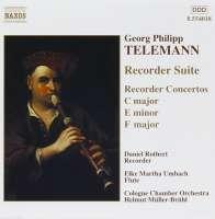 TELEMANN: Recorder Suite; Recorder Concertos