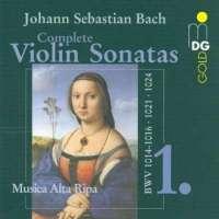 Bach: Complete Violin Sonatas vol. 1