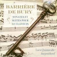 Barrière; De Bury: Sonates et suites pour le clavecin