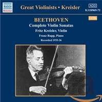 Beethoven: Compl. Violin Sonatas (1935-3