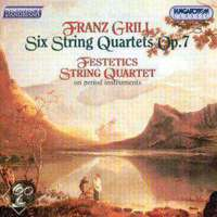 Grill: 6 string quartets op. 7