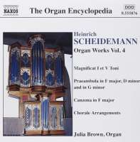 SCHEIDEMANN: Organ Works, Vol. 4