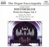 RHEINBERGER: Organ Works vol. 3