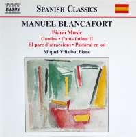 BLANCAFORT: Piano music vol. 3
