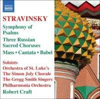 STRAVINSKY: Mass; Cantata; Symphony of Psalms