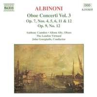 ALBINIONI: Oboe Concerti vol. 3