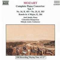Mozart: Piano Concertos 16 & 25 etc.