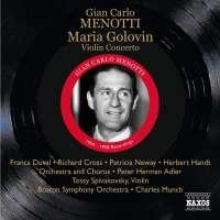 Menotti: Maria Golovin
