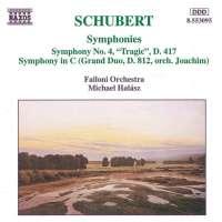 SCHUBERT: Symphony no. 4
