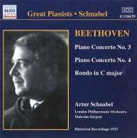 GREAT PIANISTS - SCHNABEL: Beethoven: P.