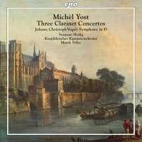 Yost: Three Clarinet Concertos; Vogel: Symphony in D