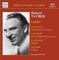 Richard Tauber sings Lieder vol.1