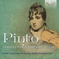 Pinto: Sonatas for Piano and Violin