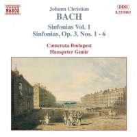 BACH J. Chr.: Sinfonias Vol. 1