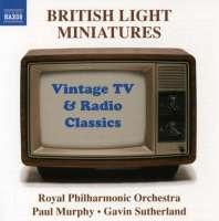 British Light Miniatures - Vintage TV and Radio Classics