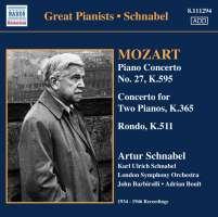 Mozart: Piano Concerto No. 27