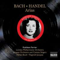 BACH / HANDEL: Arias