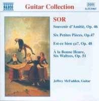 SOR: Souvenir d'Amitie; 6 Petites Pieces, Op. 47