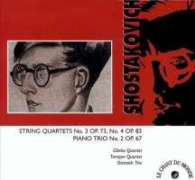 Shostakovich: String Quartets no. 3 & 4