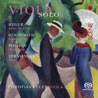 Solo Sonatas for Viola