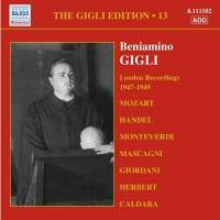 Gigli Edition, Vol. 13: London Recordings (1947-1949)