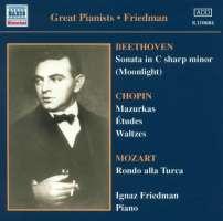 Ignaz Friedman - Complete Recordings Vol 1