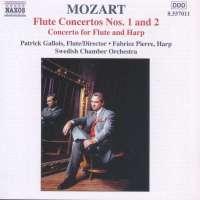 MOZART: Flute Concertos Nos. 1 and 2; Concerto for Flute and Harp