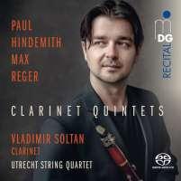 Hindemith; Reger: Clarinet Quintets